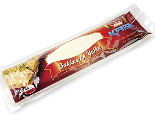 Kral Baklavalik Boreklik Yufka 800gr 44 pcs Pastry Leaves for Baklava