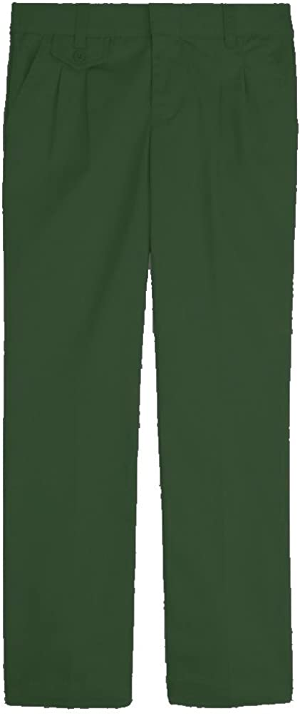 French Toast School Uniforms Girls Pleated Pant (Regular and Plus Half Sizes): Clothing