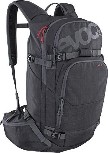 Evoc Line 30L Grau, Snowboard-Rucksack, Größe 30l - Farbe Heather Carbon Grey
