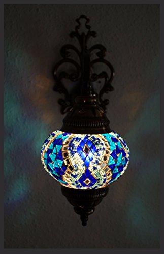Wandleuchte Mosaiklampe Mosaik Wand Lampe Orientalische Lampe Wandlampe M Samarkand-Lights