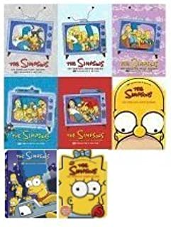 The Simpsons Complete Seasons 1,2,3,4,5,6,7,8,10 (Nine Not Included)