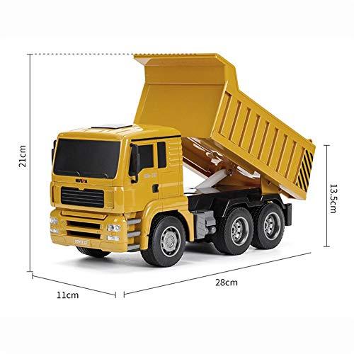 RC Baufahrzeug kaufen Baufahrzeug Bild 1: RC-Muldenkipper, 1:16 Allradantrieb-Fernbedienung Muldenkipper-LKW, schweres Baufahrzeug, Hobby-Spielzeug - Geschenk für Kinder , Maximale Belastung: ca. 1 kg*