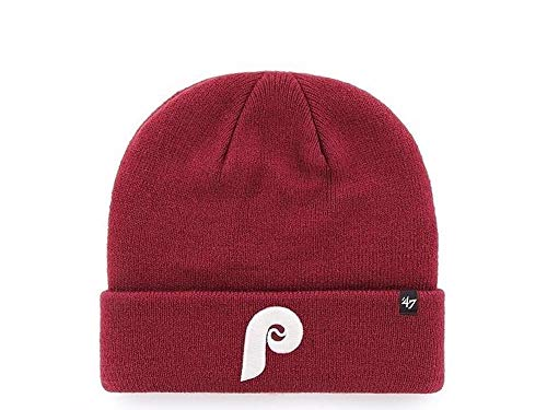 47 Brand Philadelphia Phillies MLB - Gorra de béisbol, color negro
