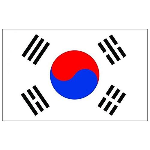 Naicasy 90*150cm Drapeau Coree du Sud 1Lot