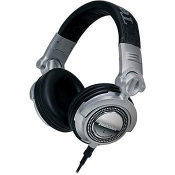 パナソニック Technics RP-DH1200 DJヘッドホン シルバー [並行輸入品]