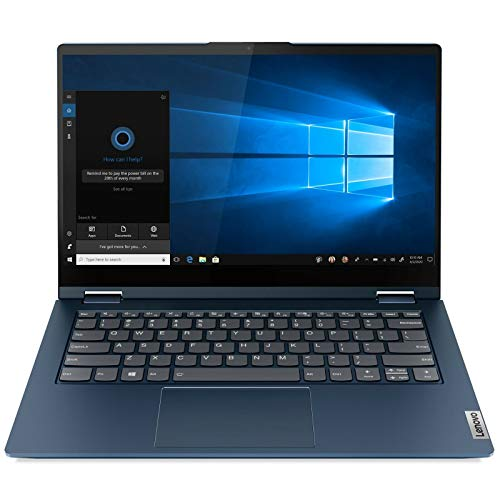 Lenovo ThinkBook 14s Yoga 2-in 1, 14' FHD IPS 300nits Touch Screen, Core i7-1165G7, Backlit Keyboard, Webcam, USB-C, Thunderbolt 4, HDMI, Iris Xe Graphics, Windows 10 Pro (16GB RAM | 512GB PCIe SSD)