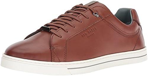 Ted Baker Men& 039;s Thawne Turnschuhe, tan Leather, 10.5 Medium US