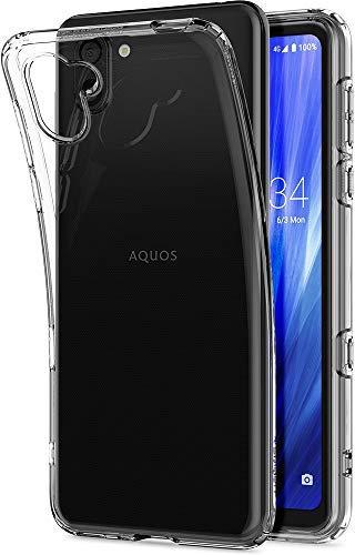 AQUOS R3軽量クリアケース