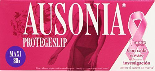 Ausonia - Protege Slips Maxi - Protección íntima de confianza - 30...