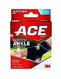 Ace Neoprene Ankle Brace, One Size (1 Brace)