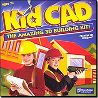 Brand New Knowledge Adventure Kid Cad Easy-To-Use Point-And-Click Interface Printable Screens