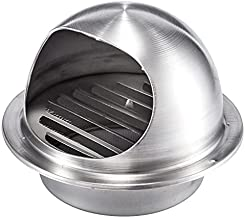 Ventilatiegatplaat 60-120mm Staalventilatie Grill Muur Gat Cover Extractor Hood Louver Valve Uitlaat Ventilator Pijp Verwa...