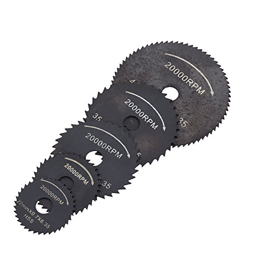 Hoja de sierra Disco de corte Herramientas eléctricas Hojas de sierra circular 1 juego Disco de corte de madera HSS Mini hoja de sierra circular para madera de plástico