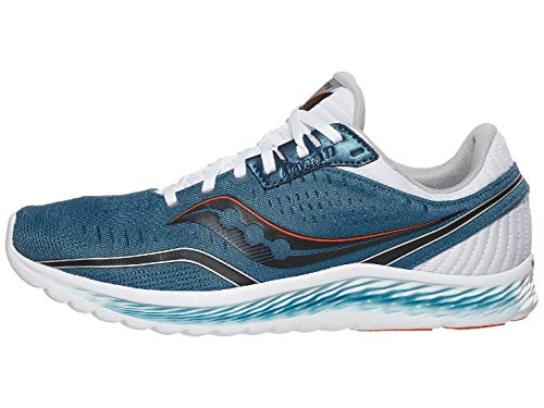 Saucony Men's S20551-25 Kinvara 11 Running Shoe, Blue/Black - 11 M US