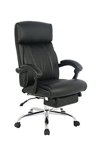 Hot Sale VIVA OFFICE® Latest High back ergonomic bonded leather recliner swivel napping chair, adjustable multifunction office chair Executive and Managerial Chair with padded headrest and armrest - VIVA 08501