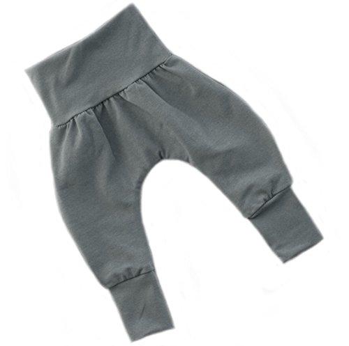Annsfashion - Pantalon - Bébé (fille) 0 à 24 mois Gris gris foncé - Gris - 3/4 ans