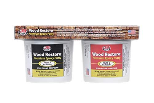 J-B Weld 40007 Wood Restore Premium Epoxy Putty Kit