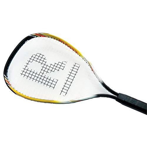 Ransome R3 Drive - Raqueta de racketball, tamaño 75 cm, Color Naranja/Blanco/Negro