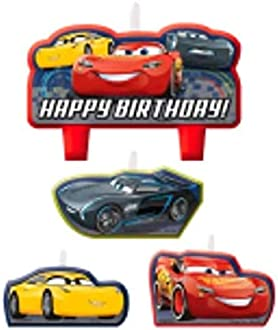 amscan Disney Cars 3 Tattoos Party Favor One Size Multicolor 398459