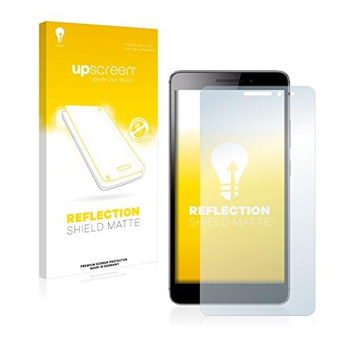 upscreen Entspiegelungs-Schutzfolie kompatibel mit Lenovo Phab Plus – Anti-Reflex Bildschirmschutz-Folie Matt