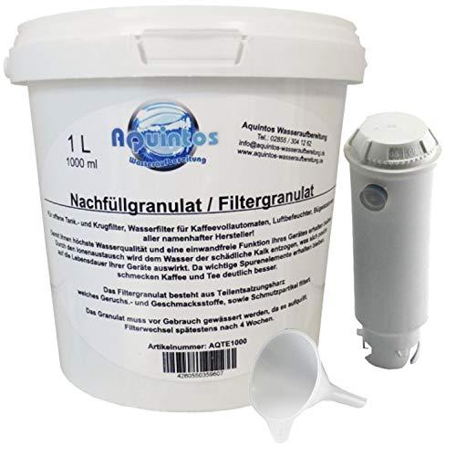 Aquintos Wasseraufbereitung Tefal Quick & Hot Claris Filter XH5000 XH5001 / Refill - Set