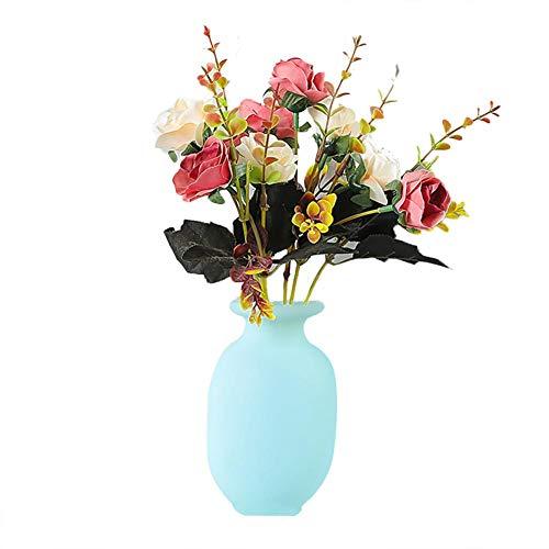 Siliconen Sticky Vaas muurbeugel bloemen flesje herbruikbare zelfklevende bloempot plakkerige plantenhouder container decoratie wand glas koelkast Windows Home adaptable