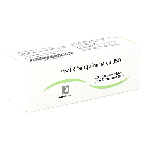 Jso Jkh Gewebemittel Gw 12 Sanguinaria Cp Globuli, 20 g
