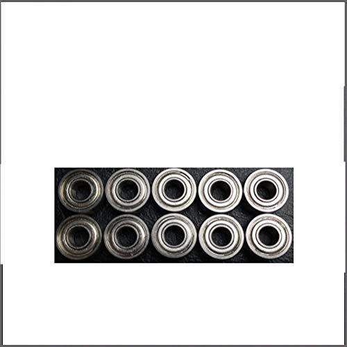 SUOFEILAIMU Miniatura SR4ZZ 440C Pulgadas y con Bridas de Acero rodamientos de Bolas Modelos RC 1/4'x5 / 8' x0.196'