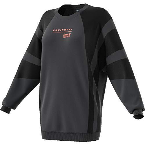 adidas EQT Damen Sweatshirt, Carbon, 40