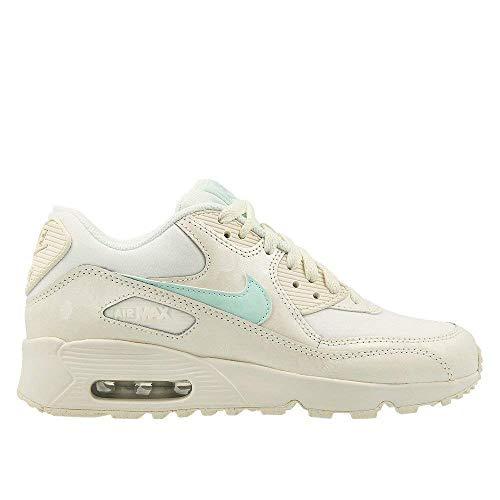 Nike Schuhe Air Max 90 Mesh (GS) sail-Igloo (833340-107) 40 Creme