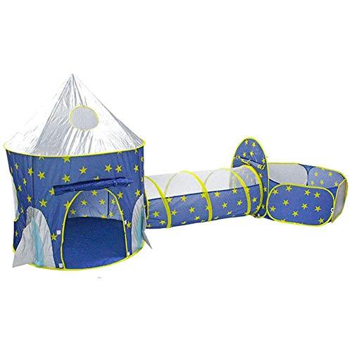 Kinderen spelen tent en tunnel 3 in 1 pop-up tent peuters kruip tunnel opvouwbare tent met rits opslag voor kinderen meisjes jongens