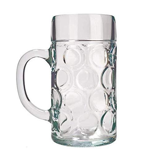 STÖLZLE LAUSITZ Oberglas ISAR boccale da 0,5 L I Boccale birra originale Oktoberfest I Set da 2 I bicchiere tradizionale I lavabile in lavastoviglie I alta qualità