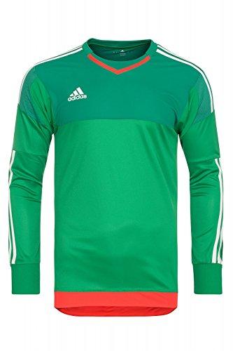 Adidas Gk jsy pl green/bgreen/owhite/b, Größe Adidas:10