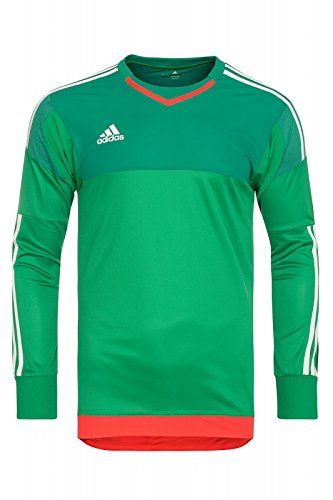 Equipación de portero Adidas S17934, Fußball-WM, todo el año, Casa, color green/bgreen/owhite/b, tamaño 10