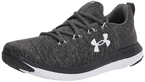 Under Armour Women's Charged Impulse Sport Running Shoe, Black (002)/White, 9