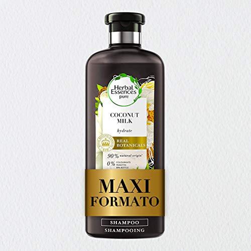Herbal Essences Shampoo Latte di Cocco Idratante, in Collaborazione con Giardini Botanici Reali di Kew, 400 ml