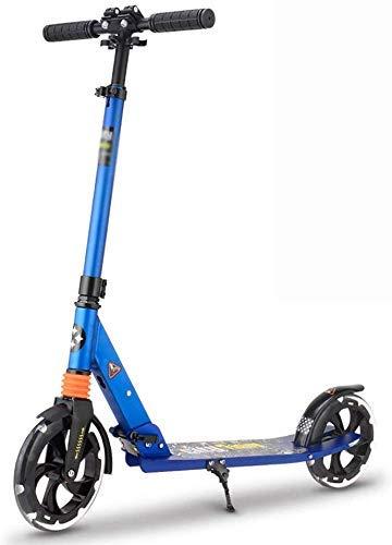 SUK Kind Erwachsene Roller Mini Scooter Reisen Motorroller Alle Aluminium Vorderrad Stoßdämpfung Folding City Campus Travel Outdoor-Sports Balance Auto