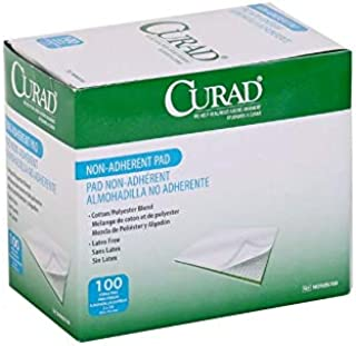 Curad Non-Adherent Pads,  Sterile,  2 x 3,  Pack of 100
