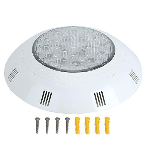 KUIDAMOS Luces de Estanque a Prueba de Agua, luz de Fuente Sumergible Sumergible LED de 18 W y 12 V, Foco de Paisaje IP68, Luces de Piscina, para acuarios de Fuente de Estanque