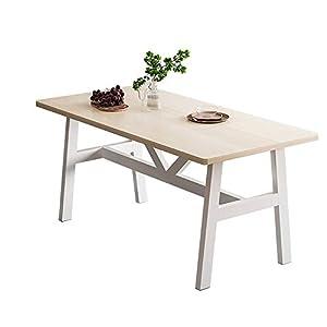 Elegante tavolo adatto sia per la sala da pranzo che per l'ufficio Disponibile in vari colori e due misure a scelta Design nordico che crea un'atmosfera rustica