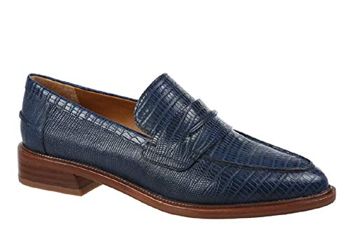 Price comparison product image Franco Sarto A-Irena Womens Loafers (8 M,  Navy)