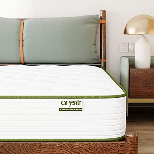 Queen Size Mattress 10 Inch Memory Foam Mattress Crystli...