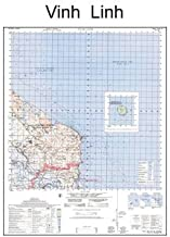 Vietnam Map - Vinh Linh - South Vietnam, North Vietnam and the South China Sea (Quang Tri Province) (Latitude Range: 17 00' N - 17 15' N Longitude Range 107 00' E - 107 15' E)