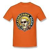T-Shirt a Maniche Corte in Cotone Moda Maschile e Giovanile Flavortown X-Large