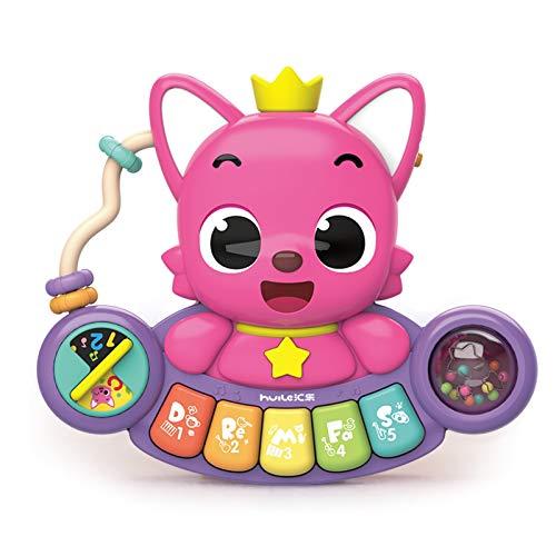 WFF Spielzeug Elektronisches Kinder Klavier Spielzeug-Baby-Klein Klavier Spielzeug-Übung Hand Kraft und Muskelentwicklung for Babys über 6 Monate (Color : 3pieces)