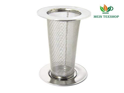 Mein Teeshop Teesieb für Thermoskannen Dauerfilter Edelstahl Teefilter Stahlfilter