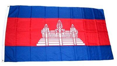 Fahne / Flagge Kambodscha 90 x 150 cm Flaggen
