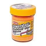 BerkleyPowerbait Natural Scent Trout Bait Glitter Bloodworm Fluo Or