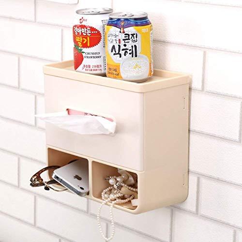 Toiletpapierhouder Home eenvoudige muur badkamer keuken met zuignap waterdicht toiletpapier opbergdoos rek (maat: B)
