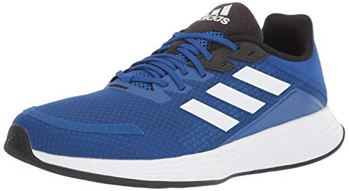 adidas Duramo Slide Wide Water Shoe, Team Royal Blue/White, 10.5